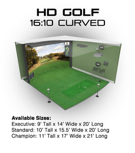 HD GOLF SIMULATOR MODELS  **Contact Us For Custom Pricing**
