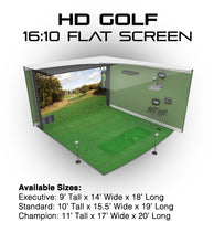 Load image into Gallery viewer, HD GOLF SIMULATOR MODELS  **Contact Us For Custom Pricing**