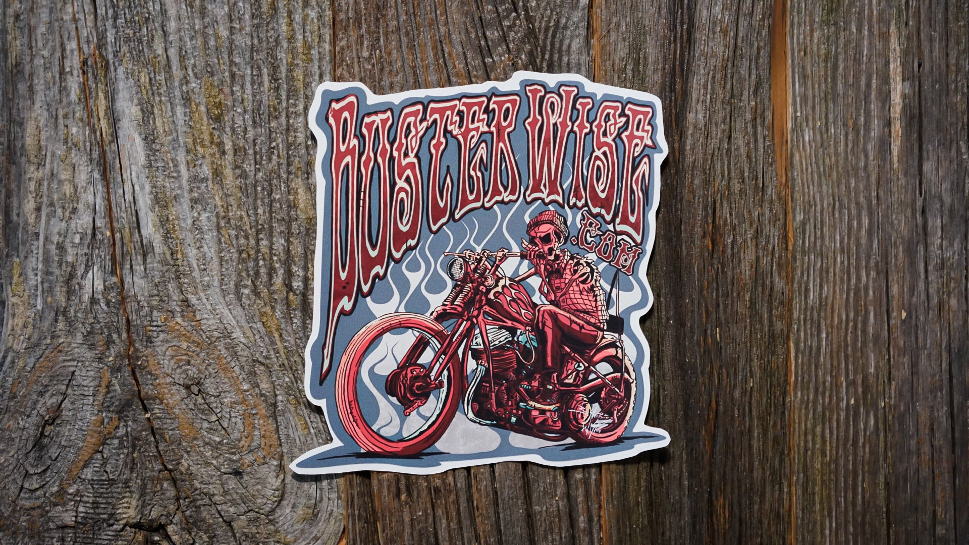Buster Wise Sticker