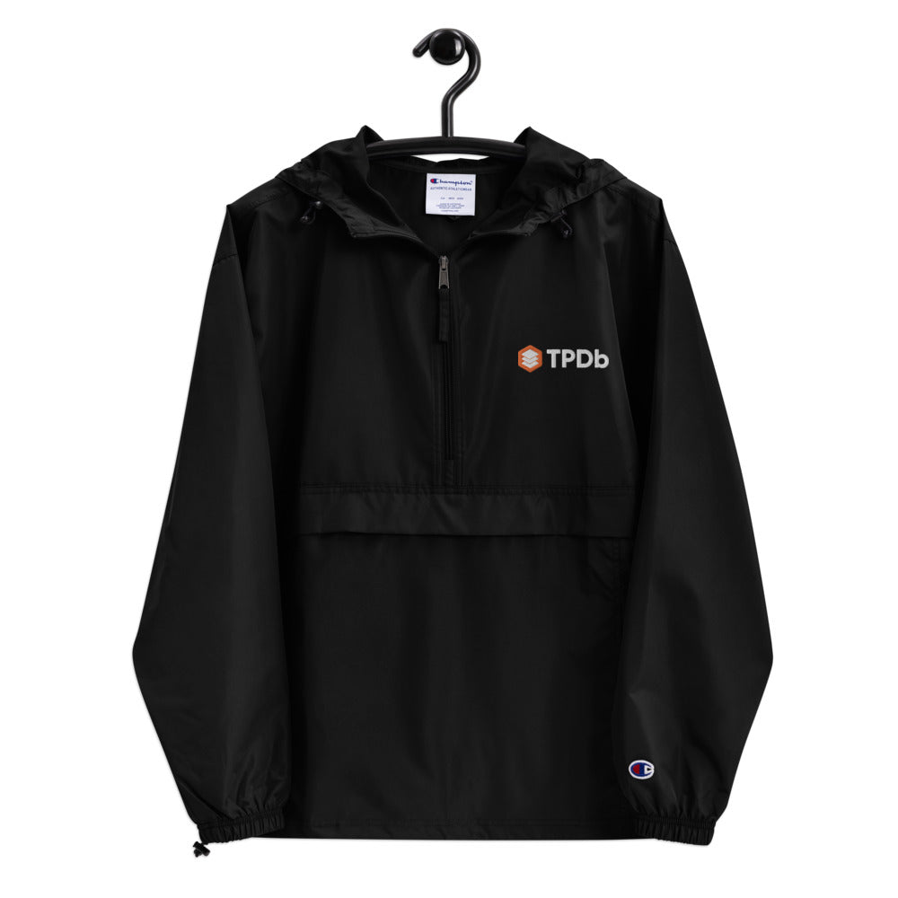 TPDb Embroidered Champion Packable Jacket