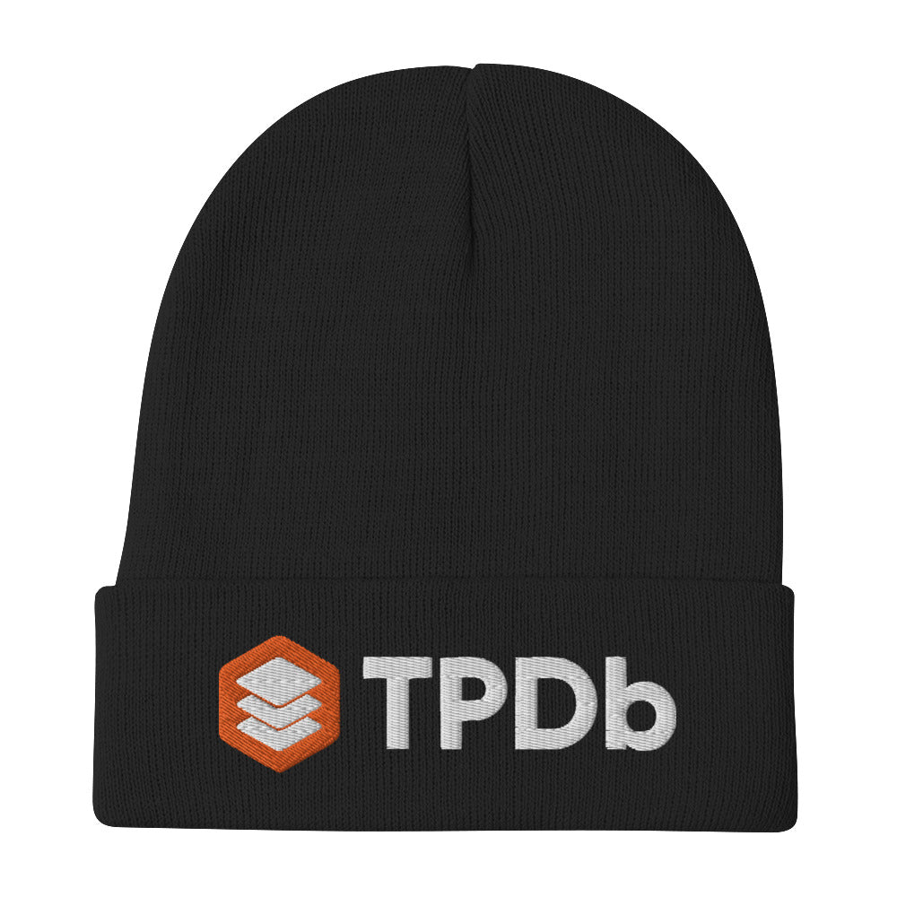TPDb Embroidered Beanie