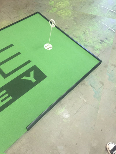 Be First to Guess Who Ordered This BirdieBall Custom Putting Green, Win Your Own 4' x 12' Putting Green!