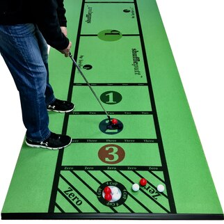 ShufflePutt Putting Mats. Putting Practice Just Took A Big Step On The Putting Mat Fun Meter.