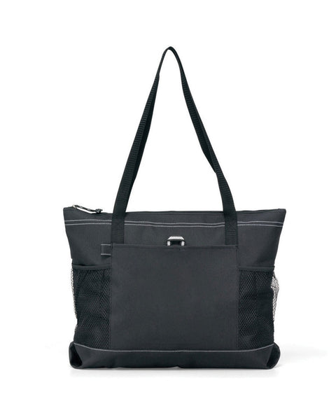 Personalized Deluxe Zippered Tote
