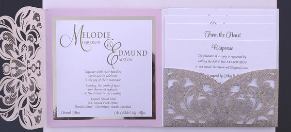 Wedding Invitation Proof