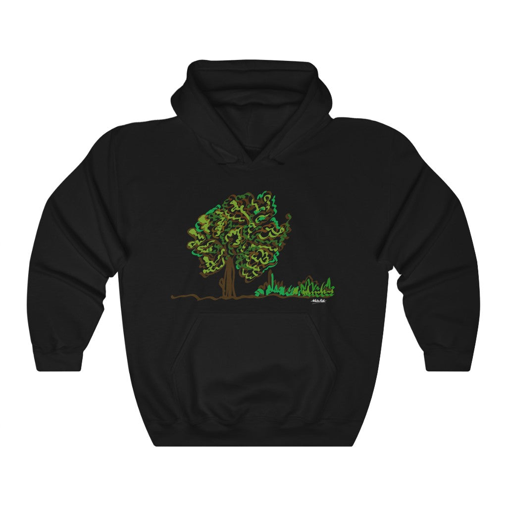 Tree - Unisex Heavy Blend™ Hooded Sweatshirt
