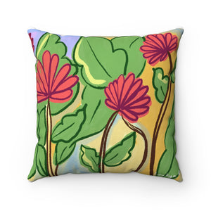 Flowers Square Pillow