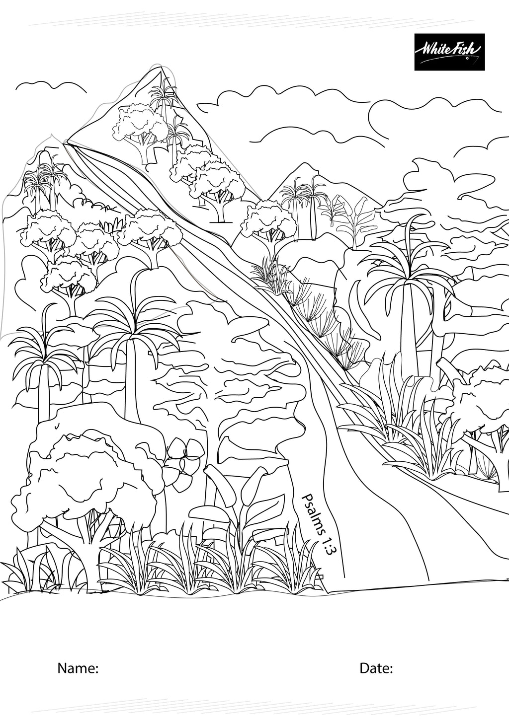 FREE Download themed coloring page