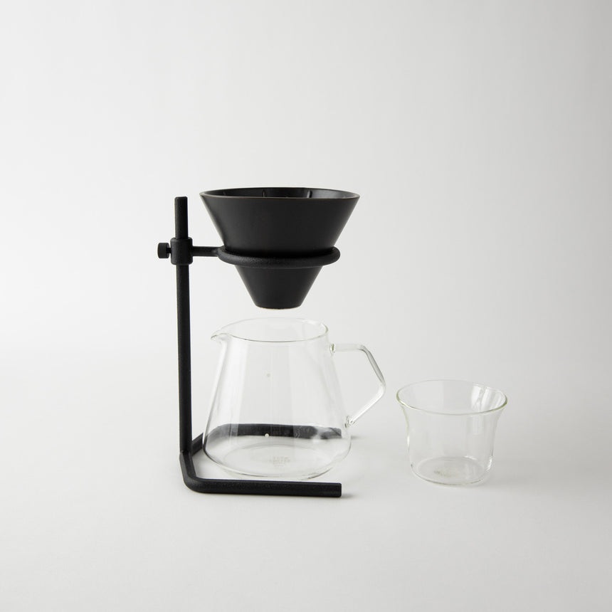 Slow Coffee Style Brewer Stand Set, 4 cups