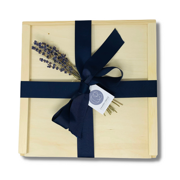 Custom corporate gift, business gift, or referral gift