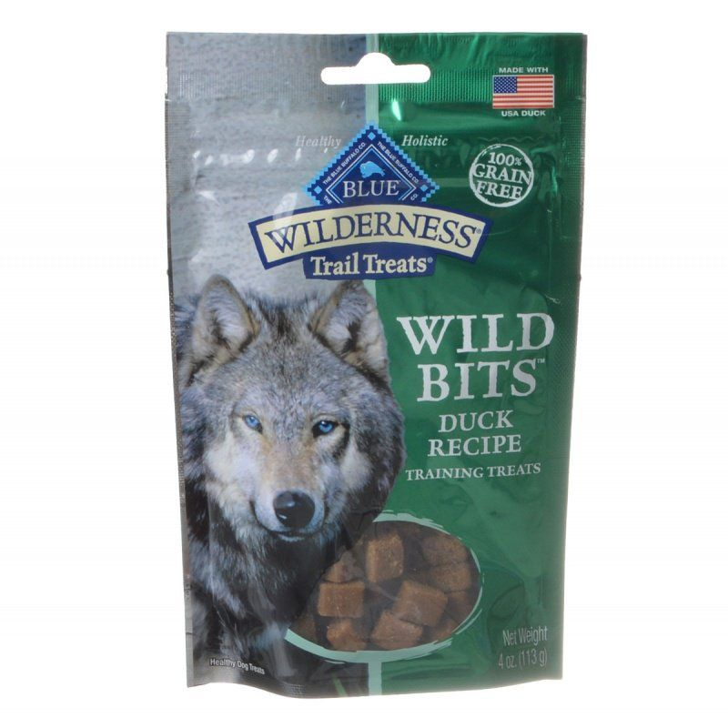 Blue Buffalo Wilderness Trail Treats Wild Bits - Duck Recipe Training Treats 4 oz - Snugglenook