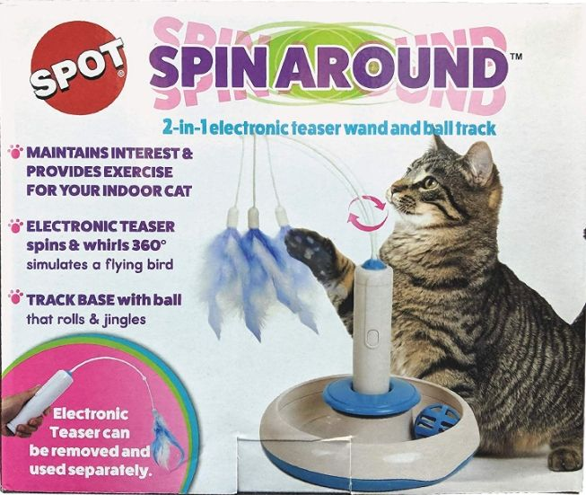 Spot Spin Around Cat Track Cat Toy 1 count - Snugglenook