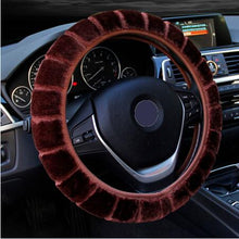 Load image into Gallery viewer, Warm Wool Car Steering Wheel Cover