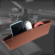 Load image into Gallery viewer, Slim Leather Car Seat storage