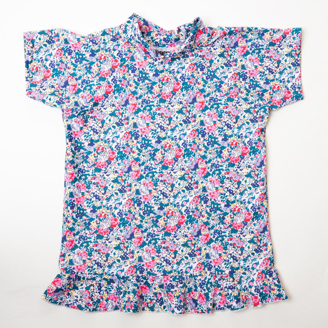 Floral Short Sleeve Rashie - Bobbi Sunshine