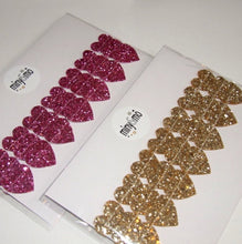 Load image into Gallery viewer, Glitter Heart Garland by miny&mo
