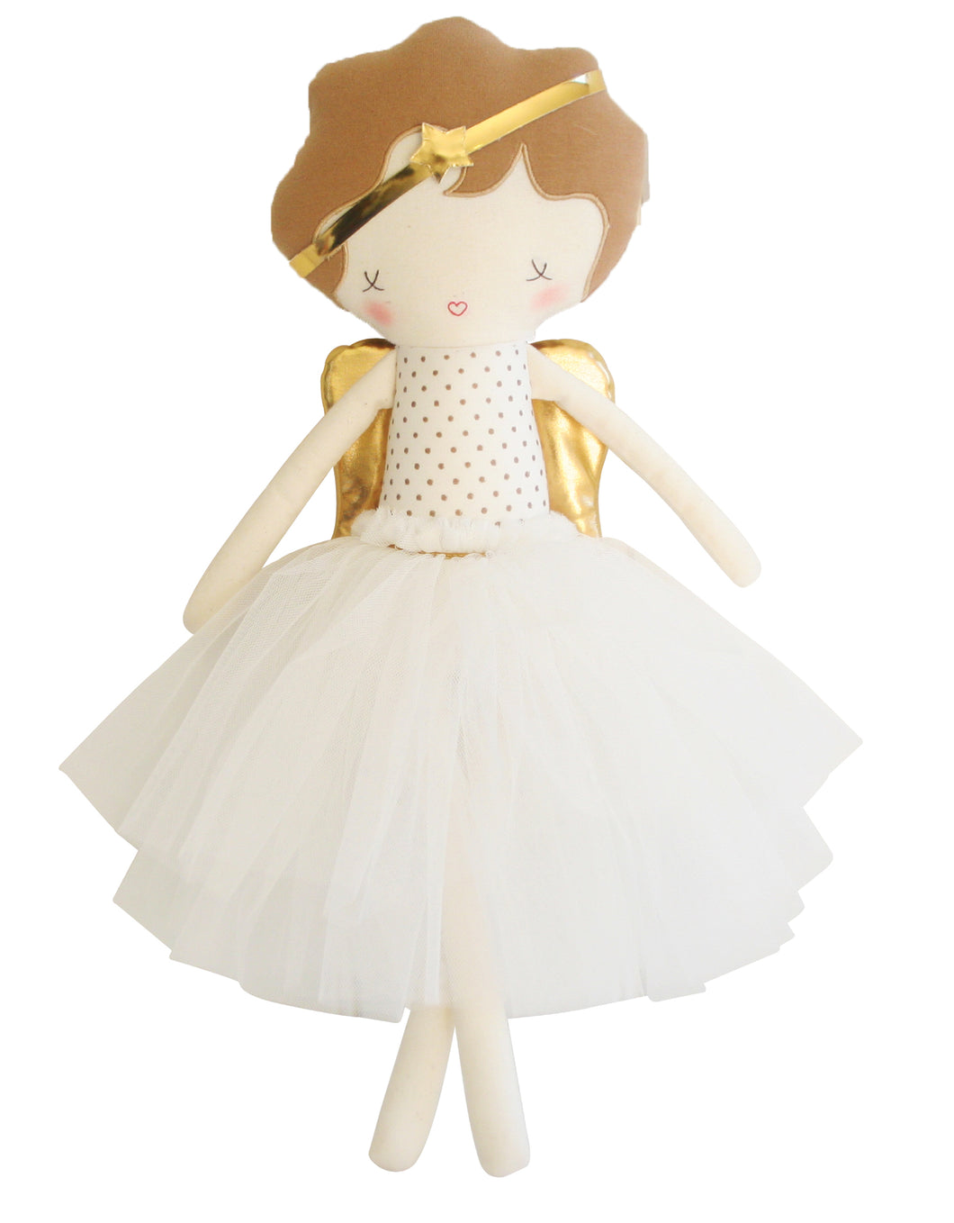 Gold Angel Doll - Alimrose