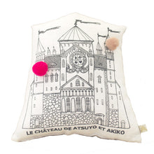 Load image into Gallery viewer, chateau pom pom cushion