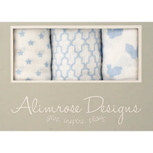 Load image into Gallery viewer, Alimrose Cotton Muslin Set - Blue