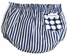 Load image into Gallery viewer, Alimrose Billy Blue Bloomers, Nappy Cover