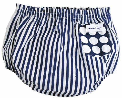 Alimrose Billy Blue Bloomers, Nappy Cover