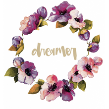 Load image into Gallery viewer, 'Dreamer' Wreath Print- White Fox and Co