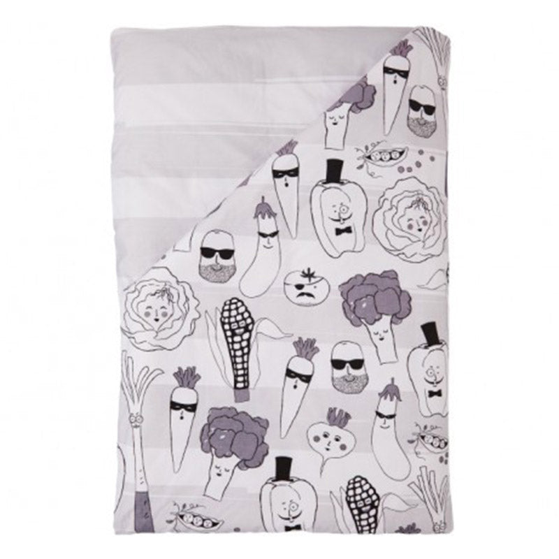 Green Mob Doona Cover, Double - Sack Me!