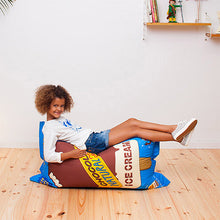 Load image into Gallery viewer, Ice Cream Kids Bean Bag - Woouf