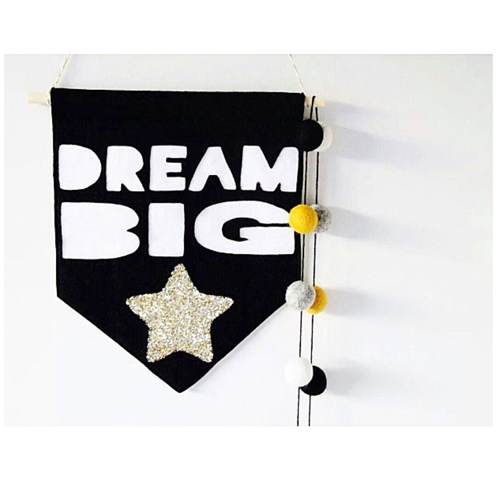 Dream Big Banner by miny&mo