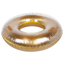 Load image into Gallery viewer, Gold Glitter Pool Ring - Sunnylife
