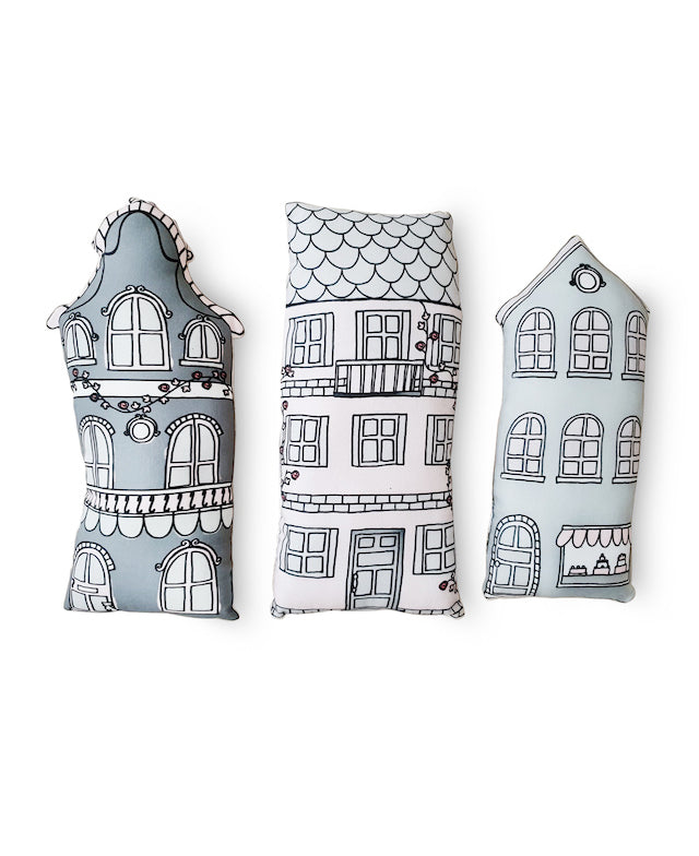 Nordic House Cushion Set- Little Nordic Kids