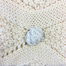 Load image into Gallery viewer, Honeydew Pom Pom Baby Blanket