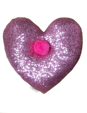 Load image into Gallery viewer, pom sequin cushion- pink