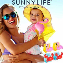 Load image into Gallery viewer, Flamingo Inflatable Arm Band - SUNNYLIFE