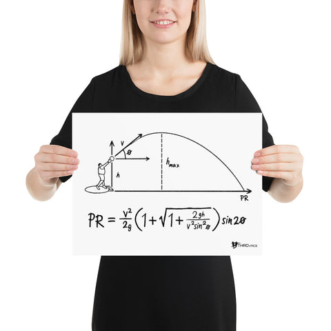 Projectile Equation -Poster