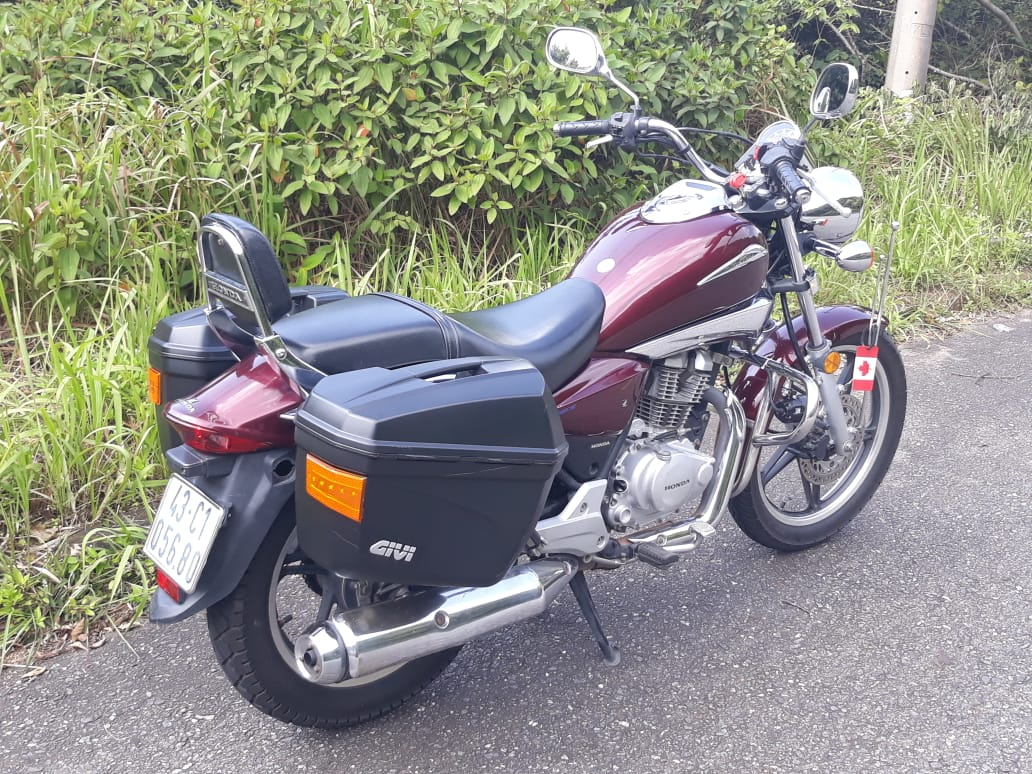 Stock - Honda Shadow (2010)