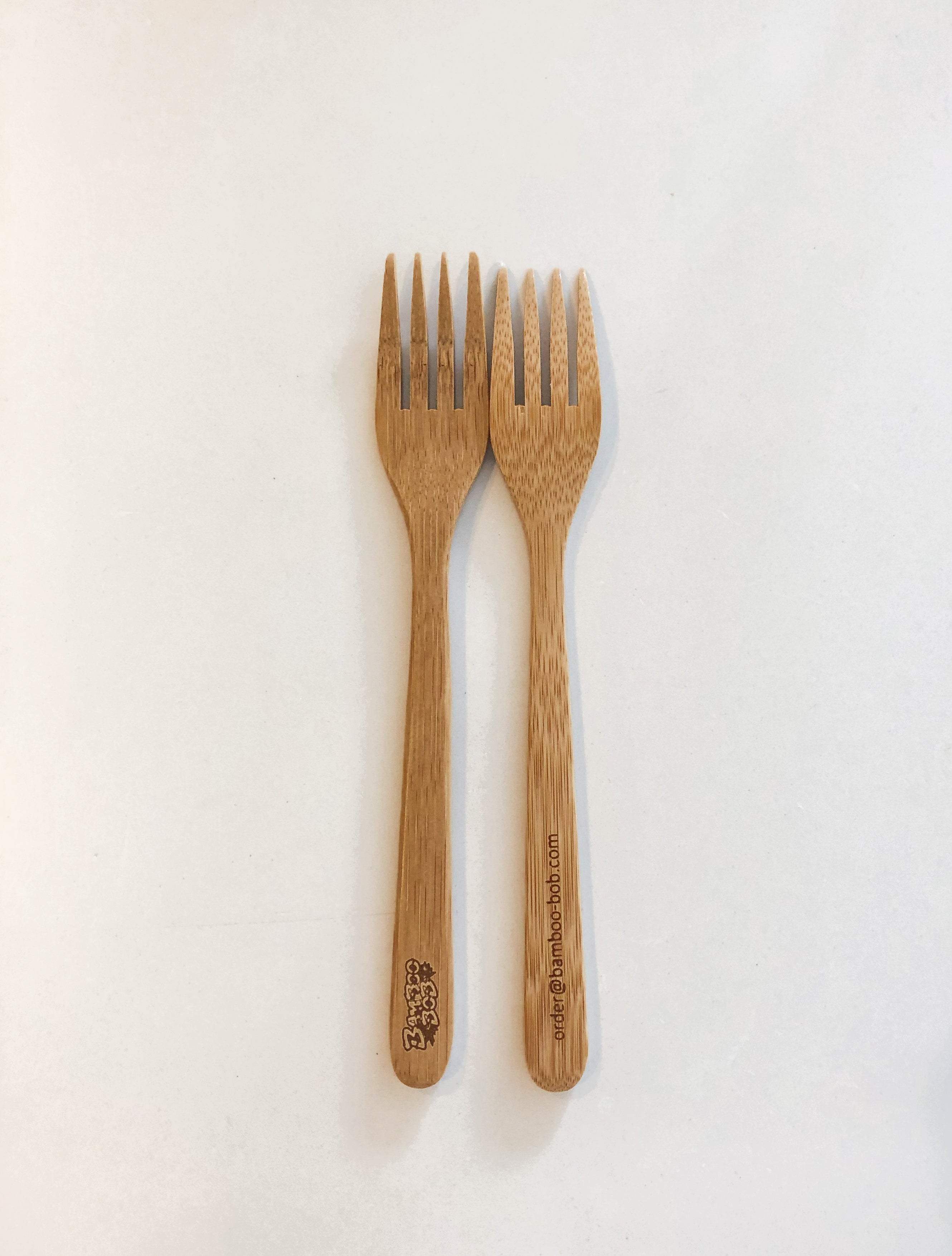 "Wholesale / Branded - Bamboo ""End the Plastic!"" Eco Cutlery Kit (50 kits / carton)"