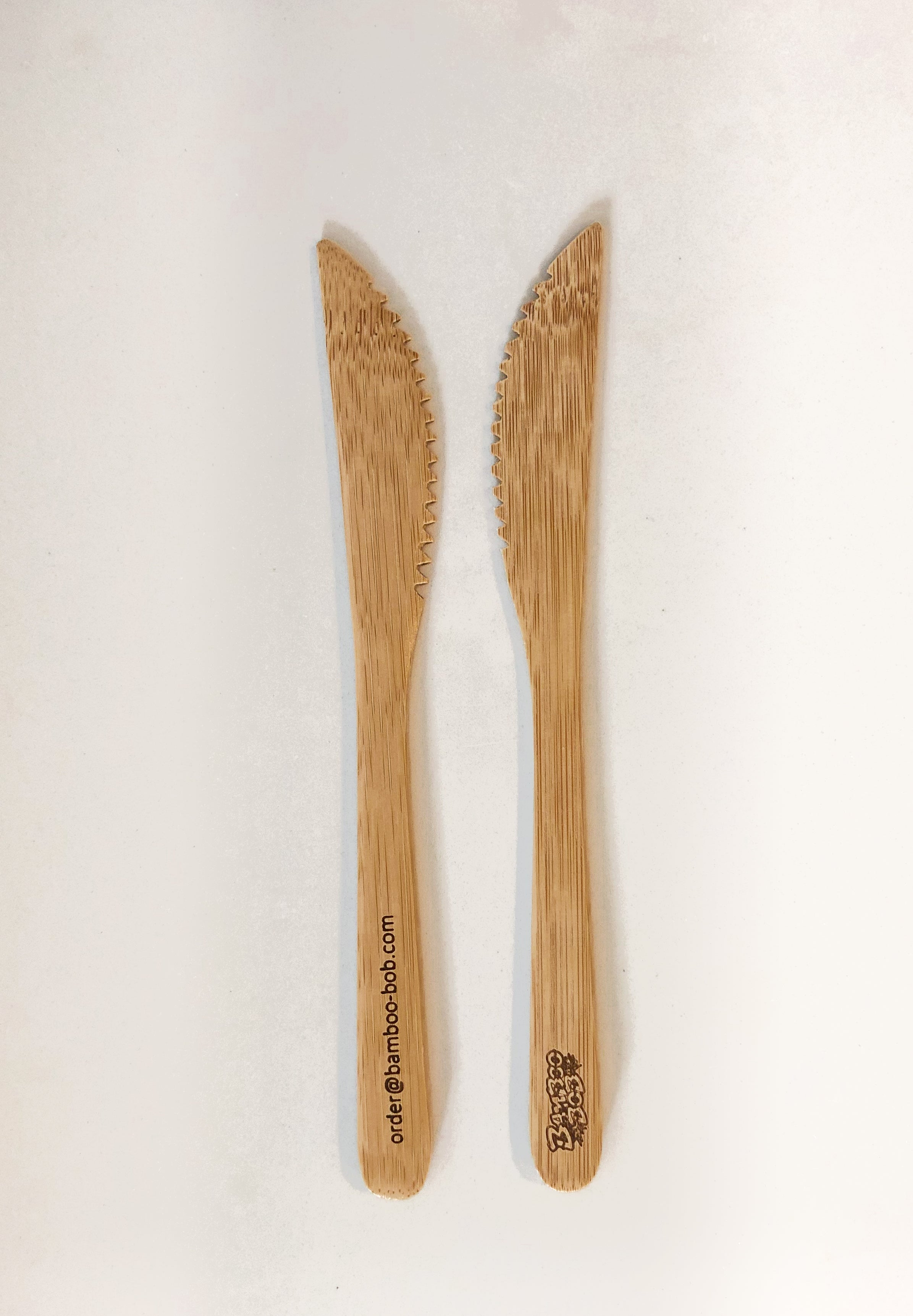 "Bamboo ""End the Plastic!"" Eco Cutlery Kit"
