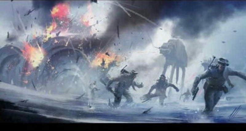 Battle of Hoth Hard to Find Pieces!