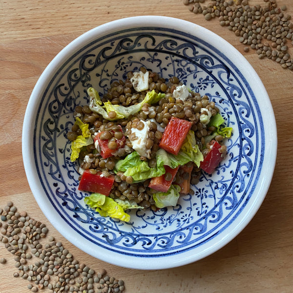 Top Up Shop's Green Lentil Salad