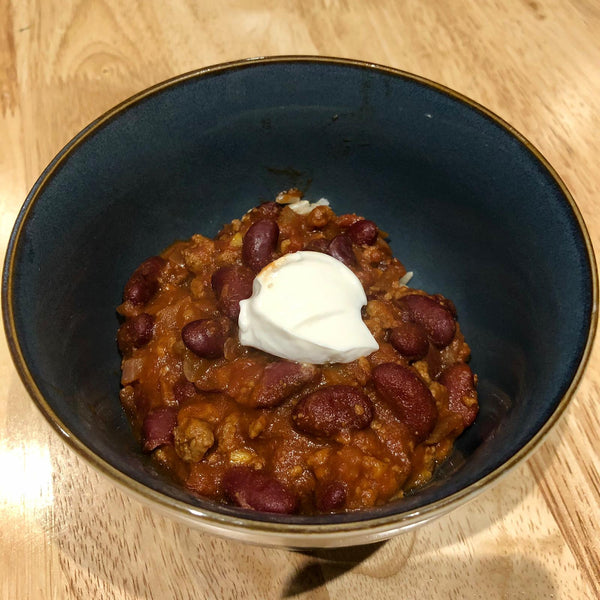 Top Up Shop's Chilli Sin Carne