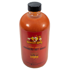 Smoked Papaya Habanero Hot Sauce Bottle