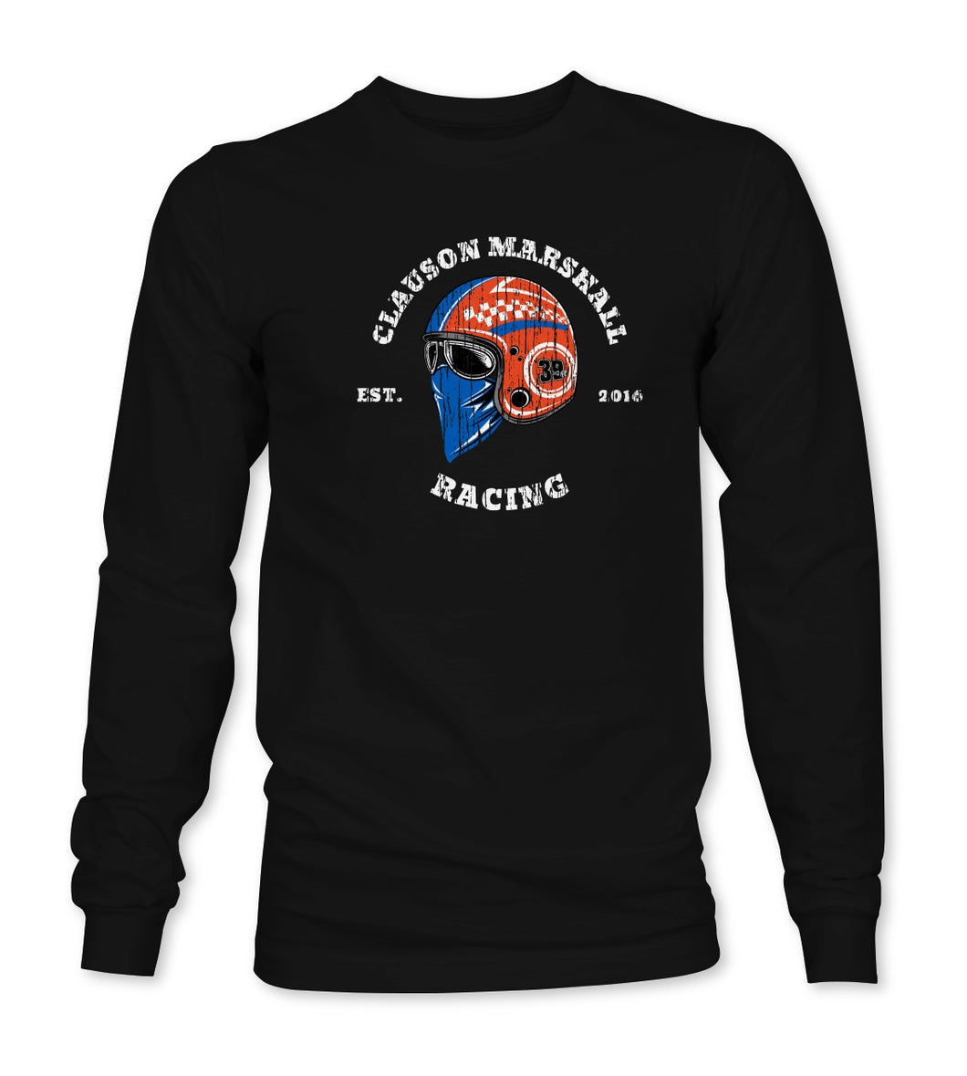 Masked Helmet Long Sleeve T-Shirt