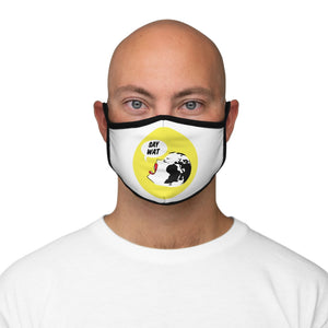 SAY WAT -Y- Fitted Polyester Face Mask