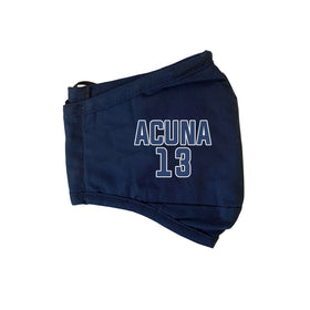 Acuna #13 MLB Player Face Masks - 3 Pack