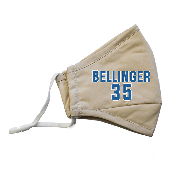 Bellinger #35 MLB Player Face Masks - 3 Pack