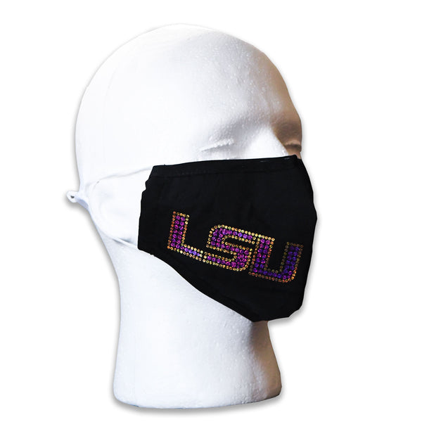 LSU Spangled College Face Mask