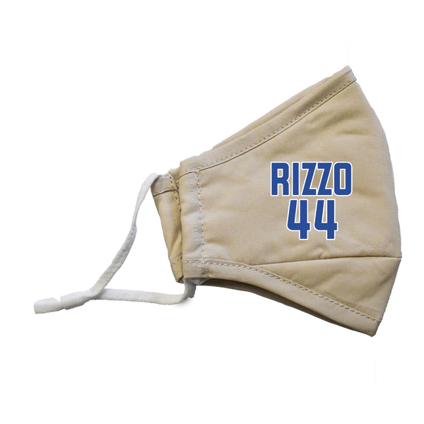 Rizzo #44 MLB Player Face Masks - 3 Pack