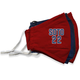 Soto #22 MLB Player Face Masks - 3 Pack