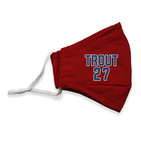 Trout #27 MLB Player Face Masks - 3 Pack
